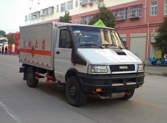 湖北程力汽车申报的CLW5040XQYNJ5(跃进依维柯)爆破器材运输车公告公示