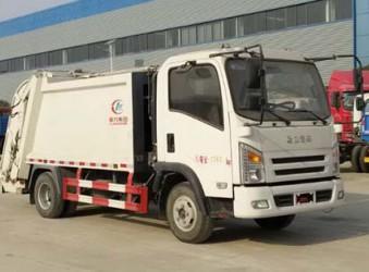 湖北程力集团申报的CLW5070ZYSA5(江淮)压缩式垃圾车公告公示