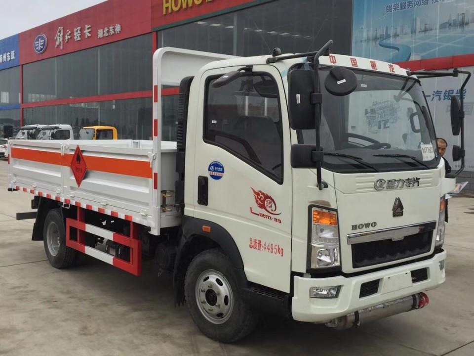湖北程力重汽豪沃4米2气瓶运输车 (5)