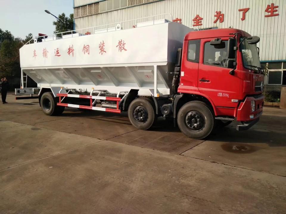 东风天锦30立方程力饲料运输车 (9)