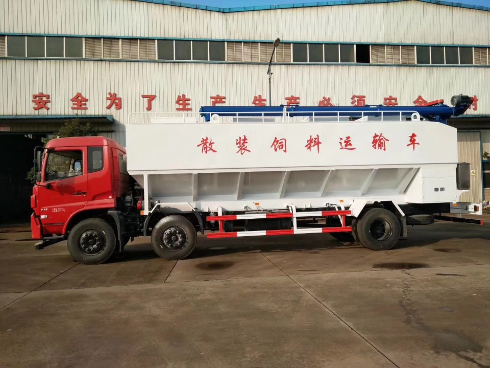 东风天锦30立方程力饲料运输车 (10)