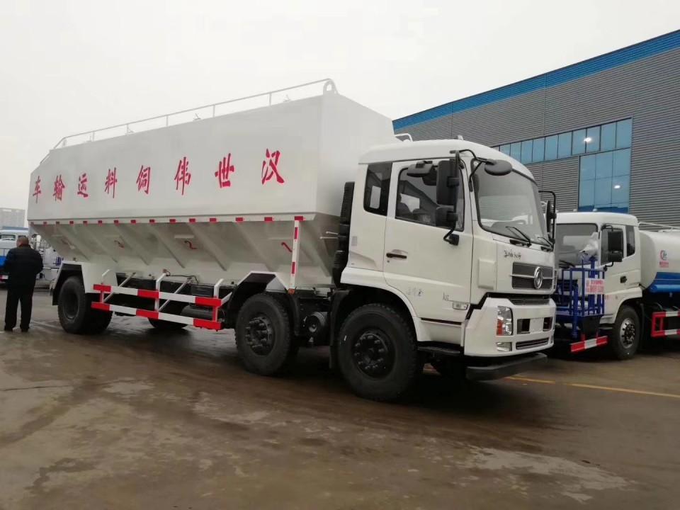 东风天锦30立方程力饲料运输车 (12)