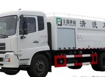 程力东风天锦国六疏通清洗车