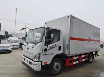 解放4类危险品可燃固体危险品运输车