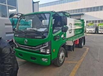 东风D7凯普特泔水垃圾收集车餐厨垃圾车,可上北京