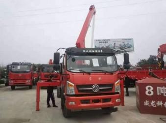 东风专底D912威龙6.3吨随车吊