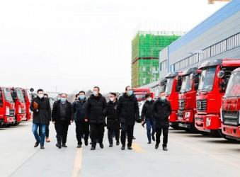 程力头条:福田汽车集团常瑞总经理一行莅临程力汽车集团深化战略合作