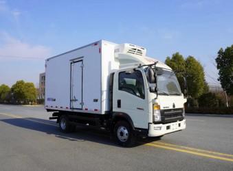 程力重汽豪沃4米2冷藏车(ZZ5047XLCH3315F145)