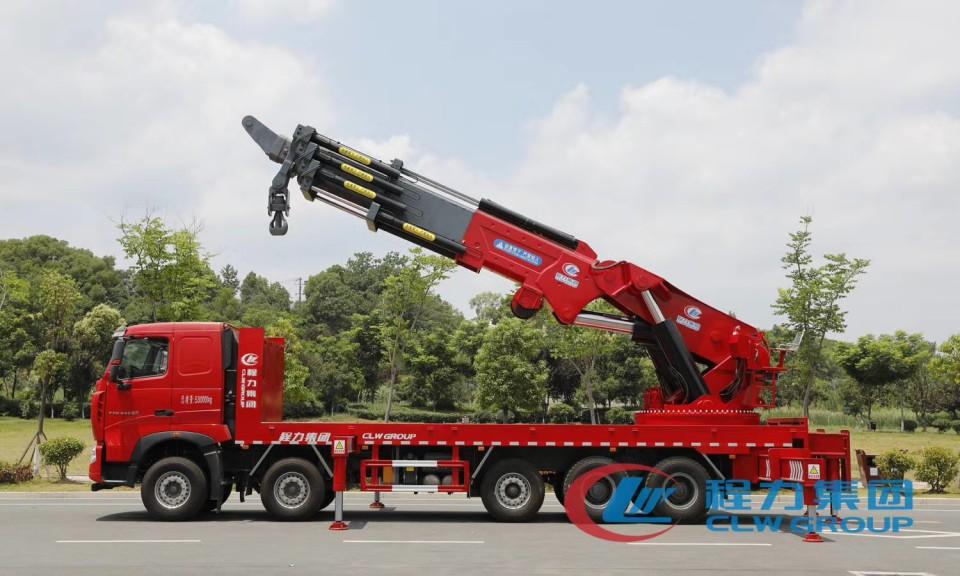 程力100吨120吨汽车起重机