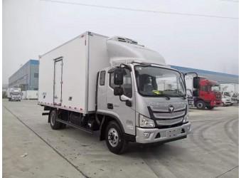 程力国六欧马可S3-5.1米箱长冷藏车(BJ5108XLC-F3